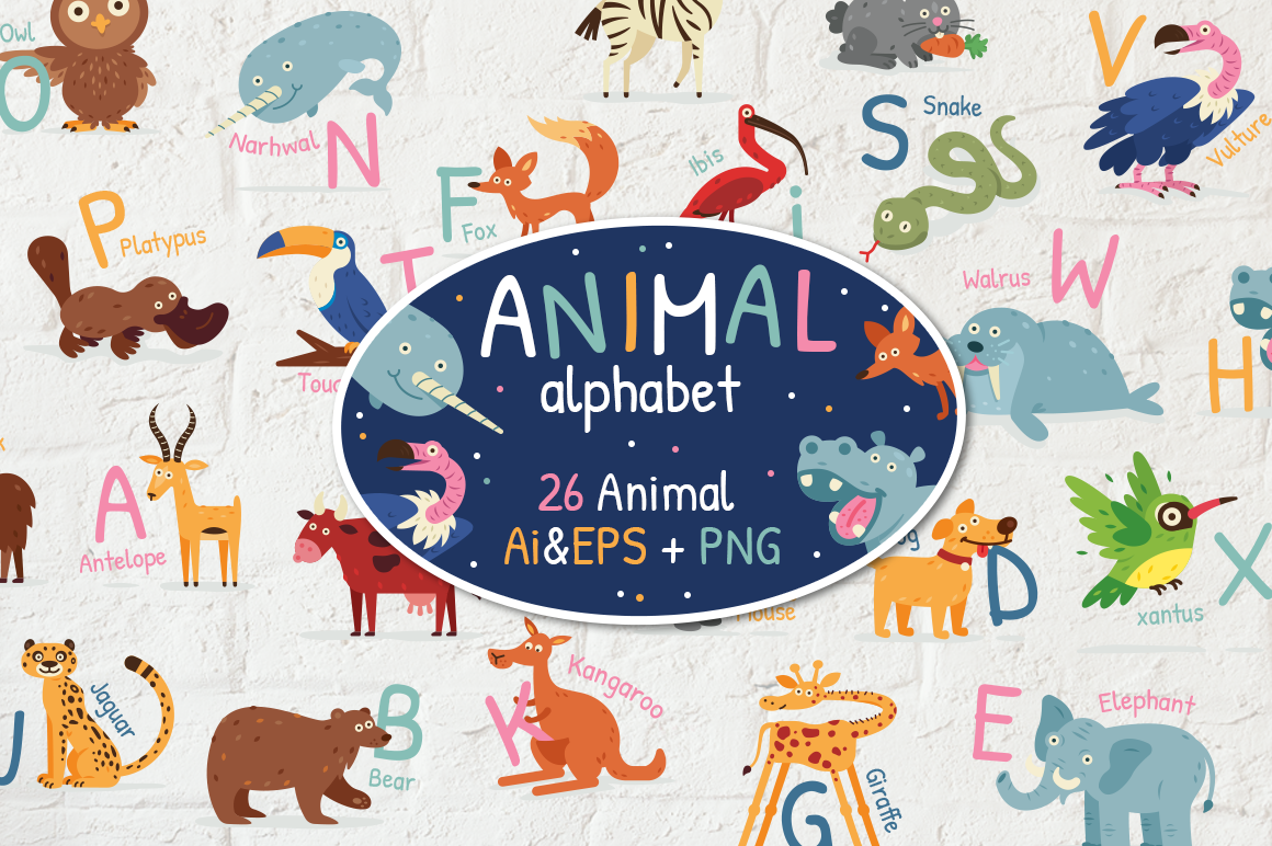 Animal Alphabet example image 1