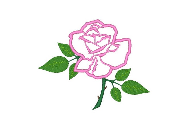 Rose Machine Embroidery Designs Set of 3 example image 2