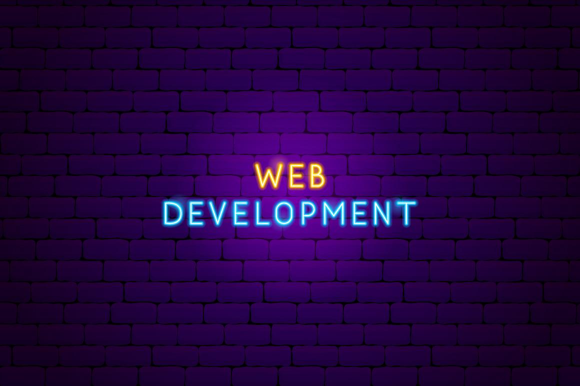 Web Development Neon example image 12