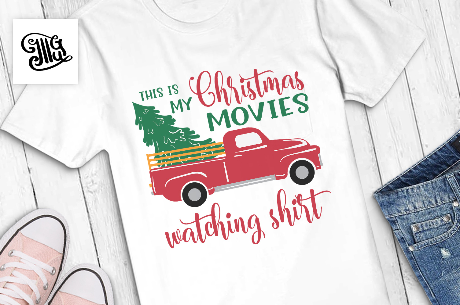 This is my Christmas movies watching shirt example image 1