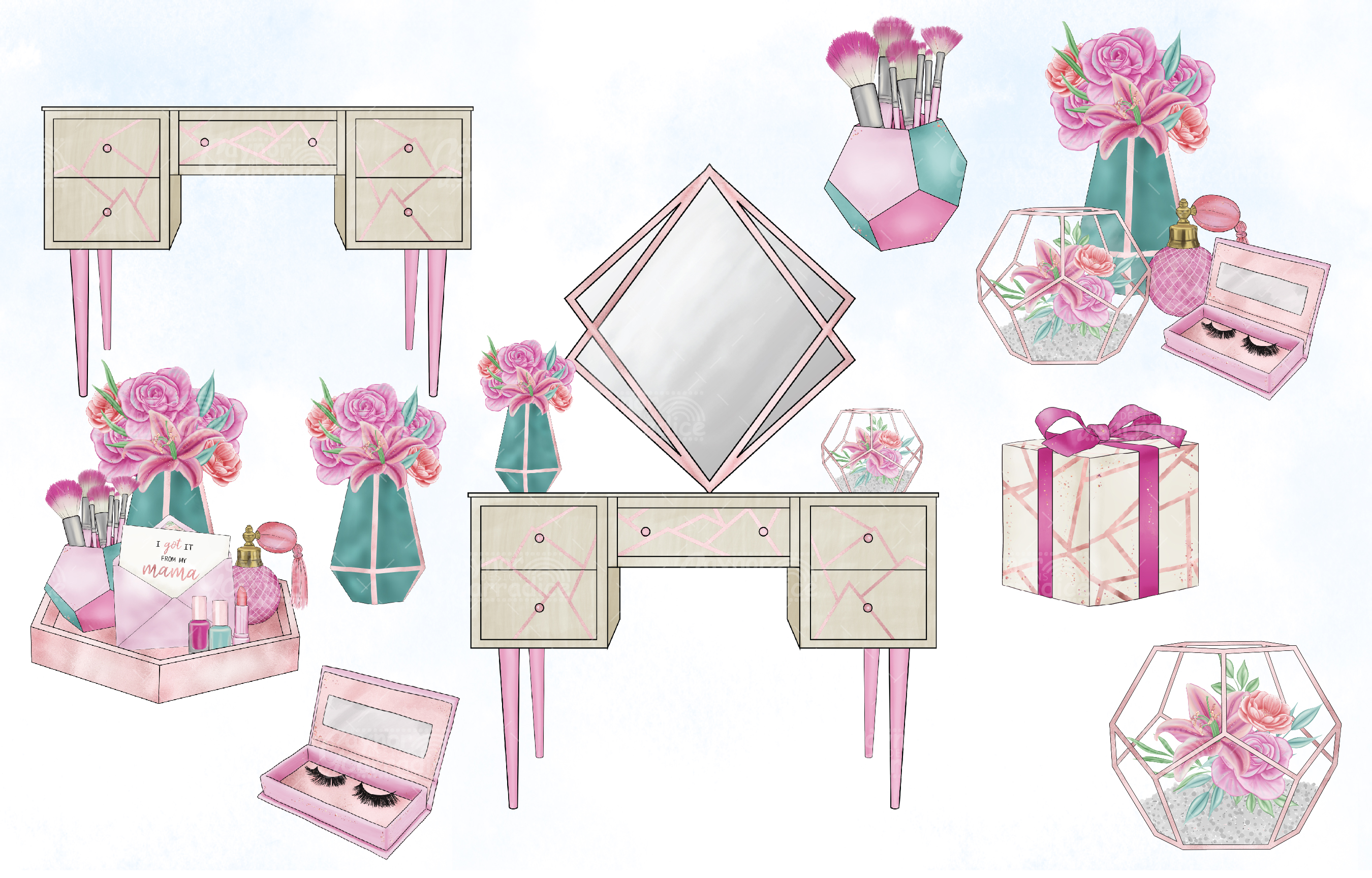 I got it from my mama - mothers day clipart collection example image 3
