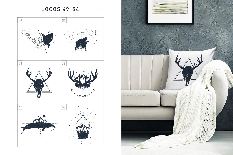 Nordicus. 60 Creative Logos example image 14