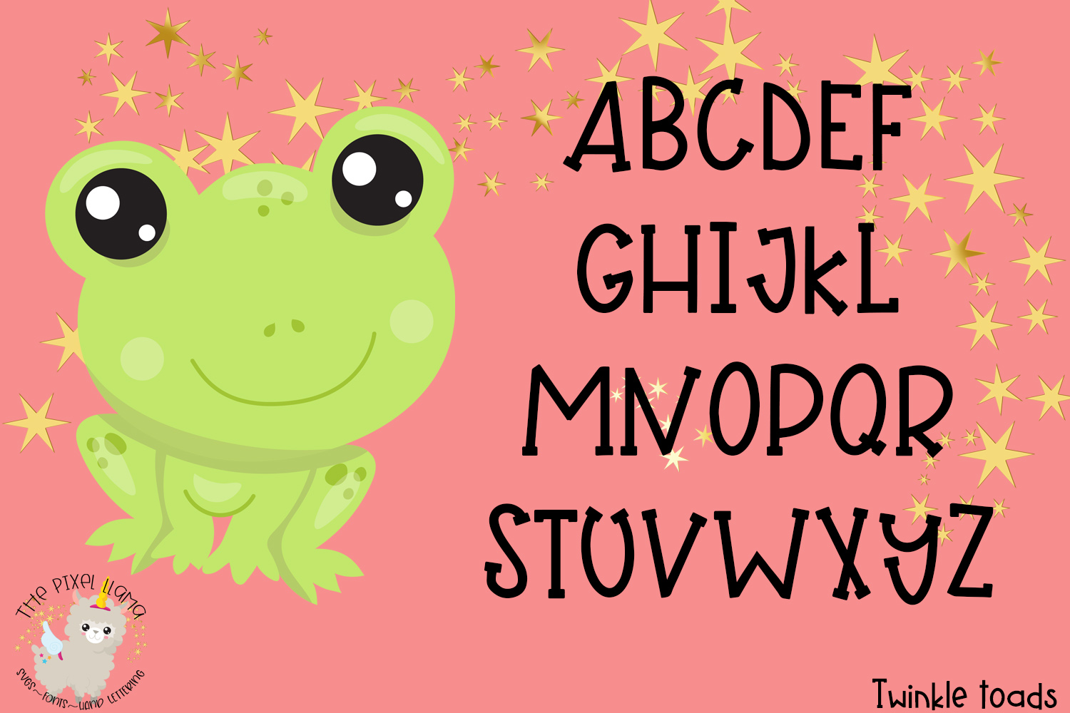 Twinkle Toads Font example image 4