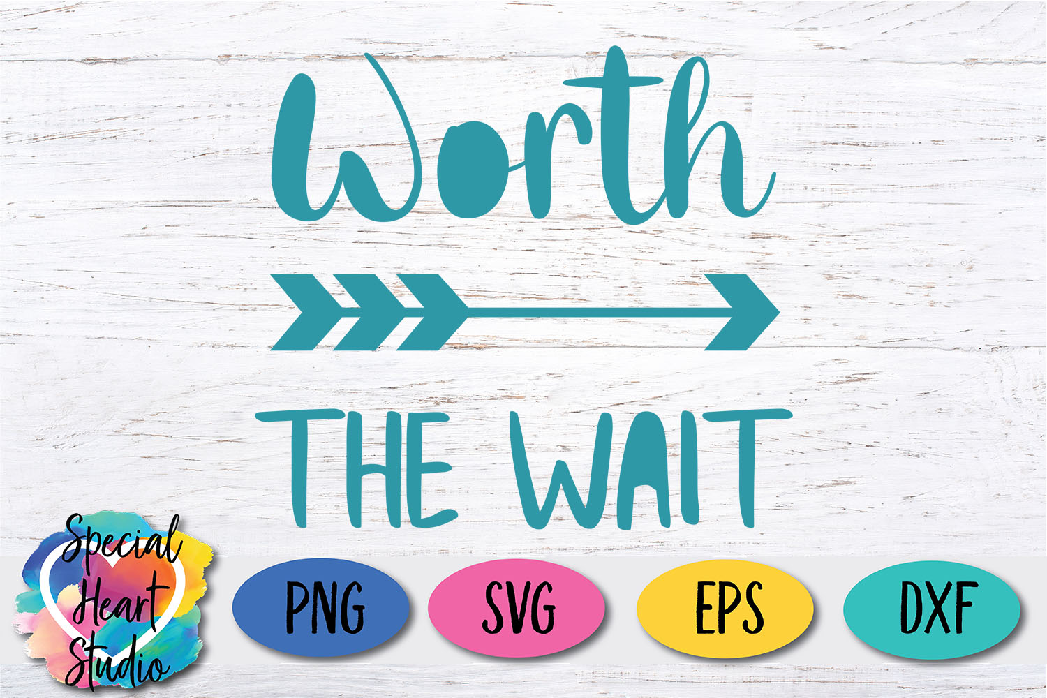 Worth the Wait SVG - Newborn Baby Infant example image 2