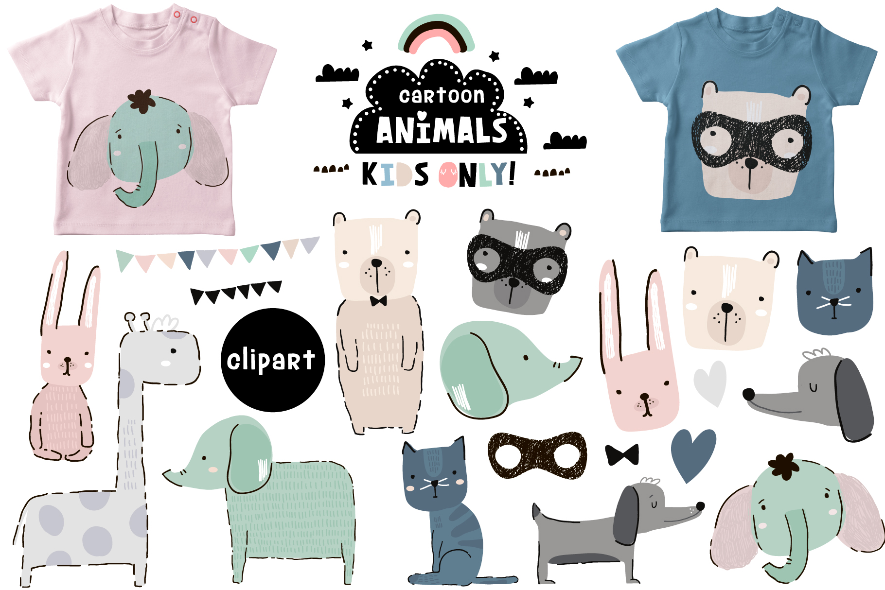Creative animals collection example image 2