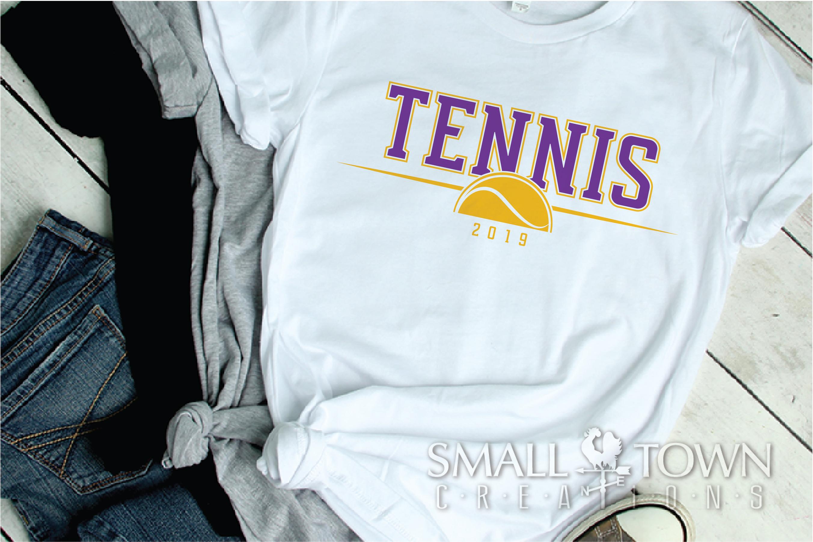 Tennis, tennis ball, Sports, Team logo, PRINT, CUT & DESIGN example image 2