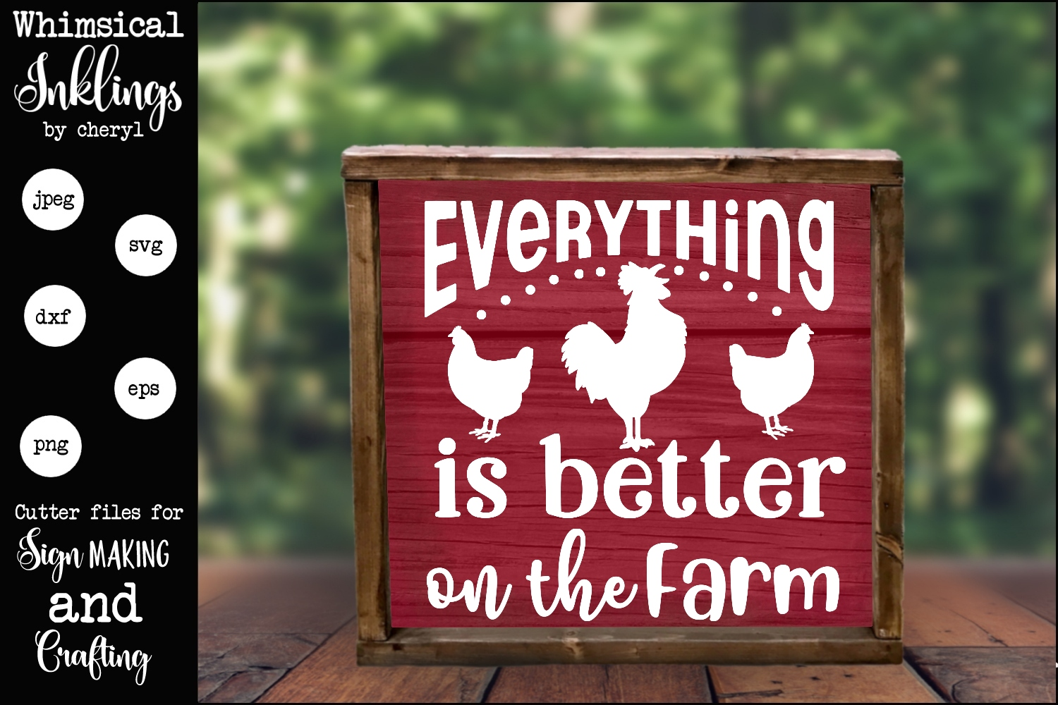 Everything Is Better On The farm SVG example image 1