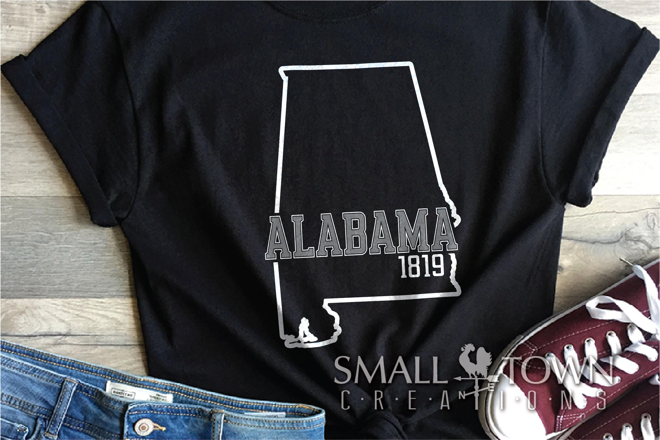 Alabama, Bundle, Heart of Dixie, Logo, PRINT, CUT & DESIGN example image 8