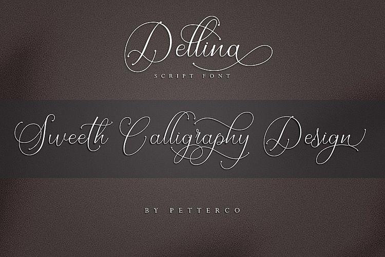 Sweeth Calligraphy Design - Font Bundles example image 6