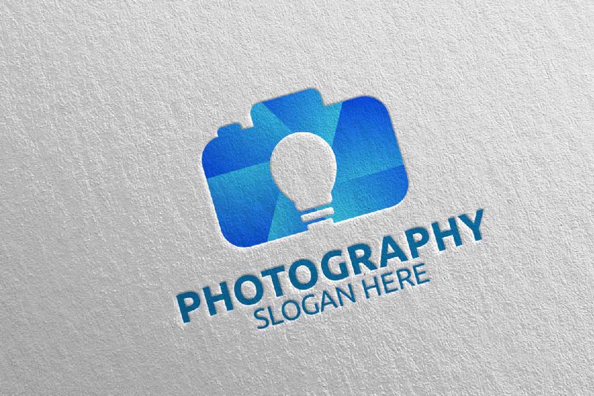 Abstract Camera Photography Logo 11 example image 2