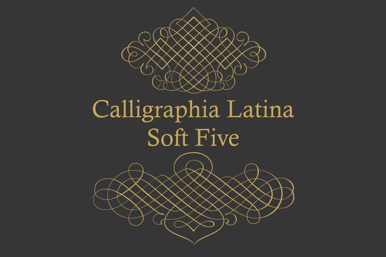 Calligraphia Latina Soft Five example image 4