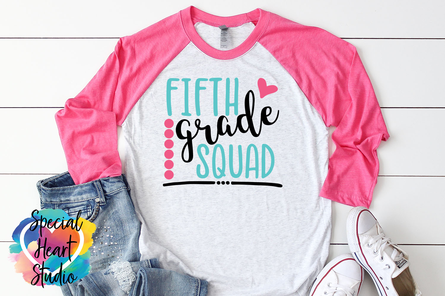 Fifth Grade Squad - A School or Teacher SVG Cut File example image 1