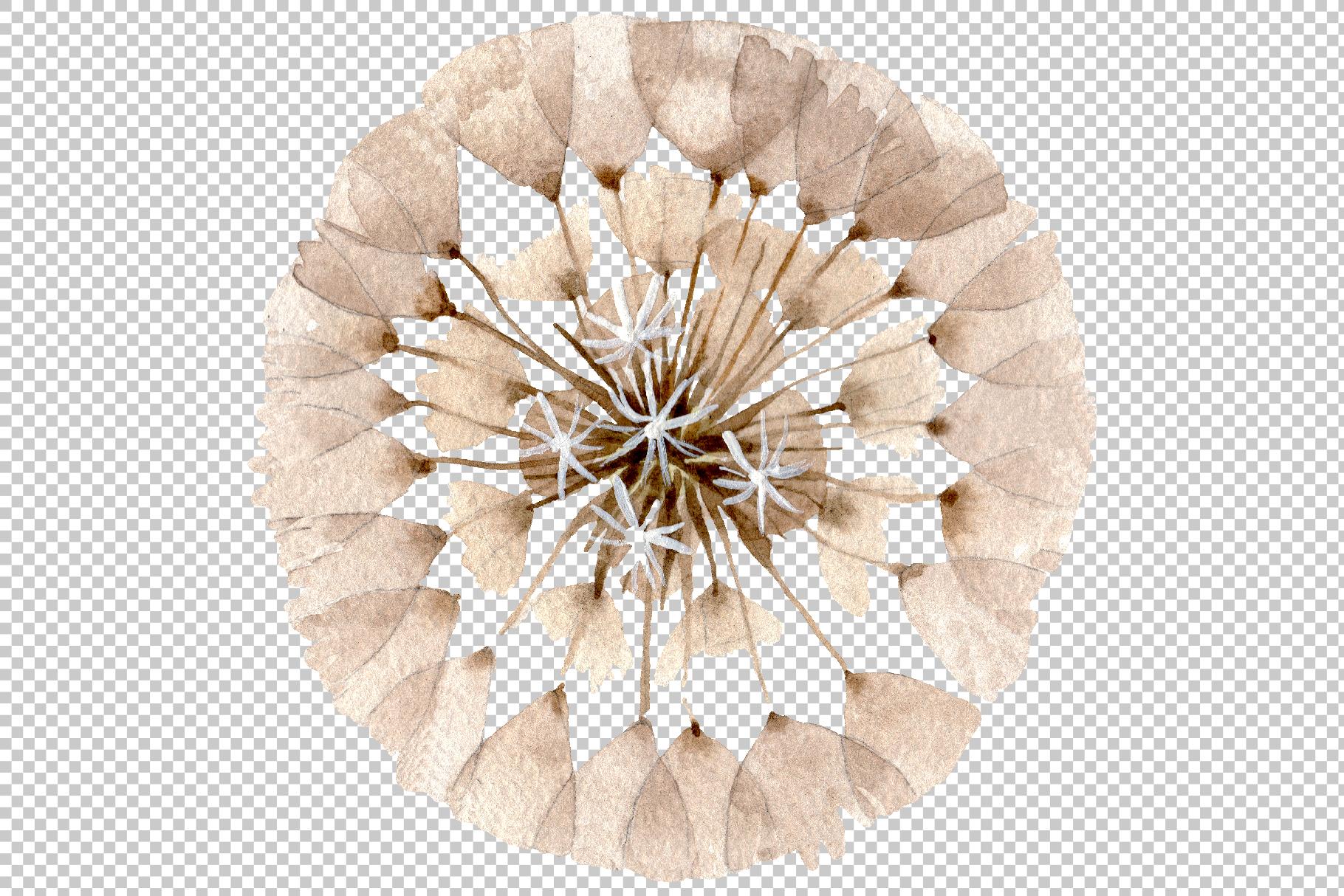Dandelion Watercolor png example image 5