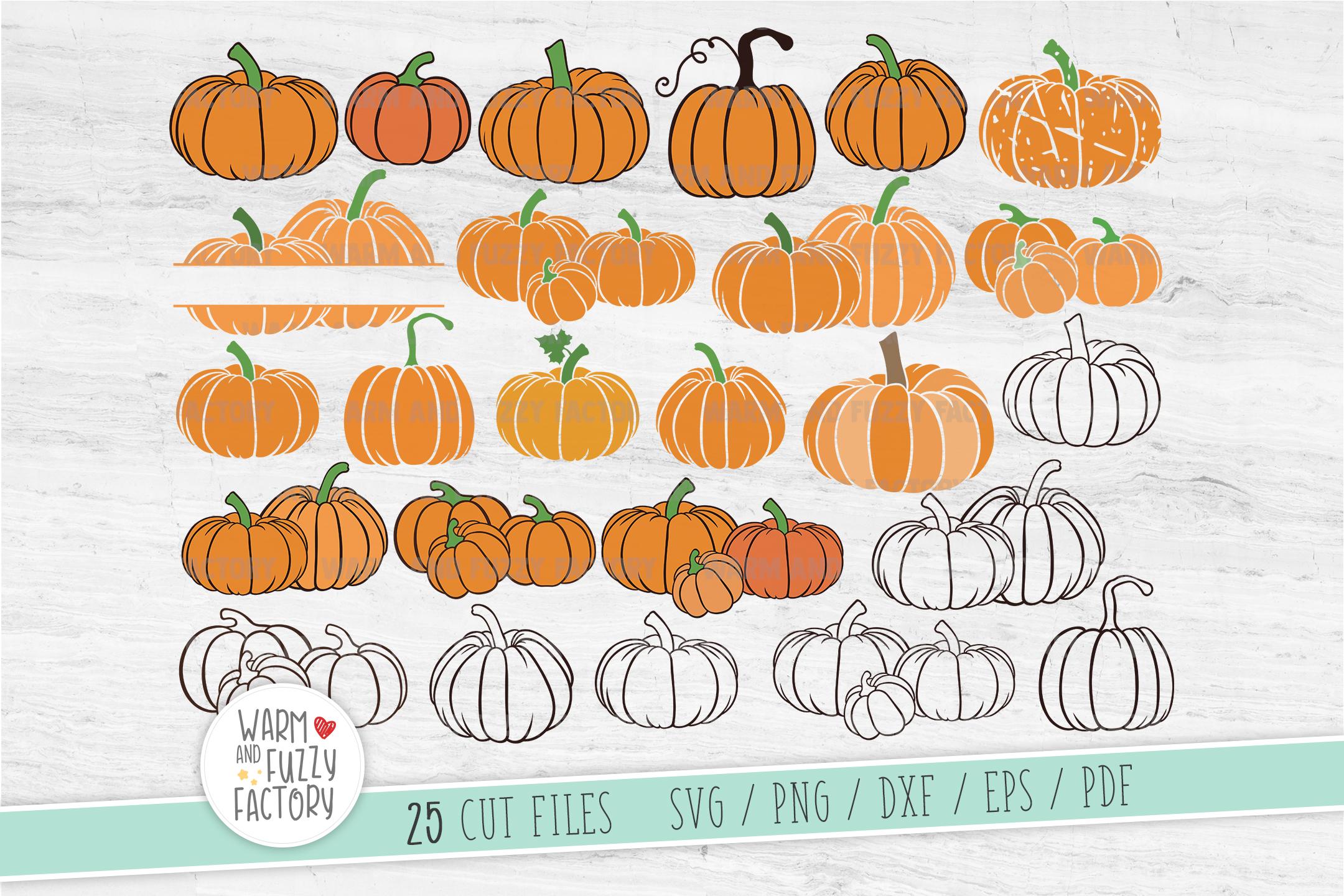 Pumpkin svg, Pumpkin patch, Fall svg, Pumpkin svg bundle example image 1
