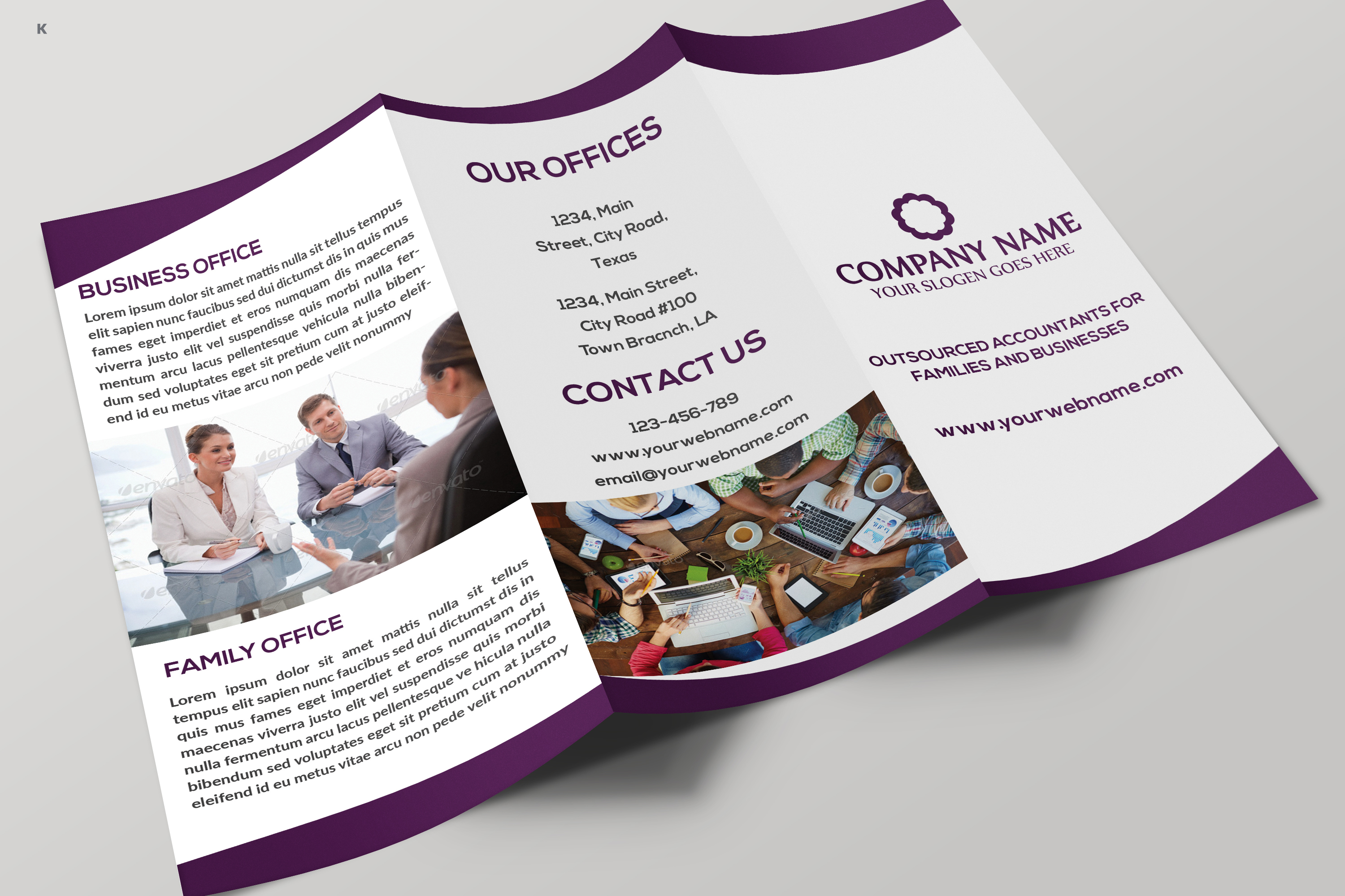 Business Trifold example image 9