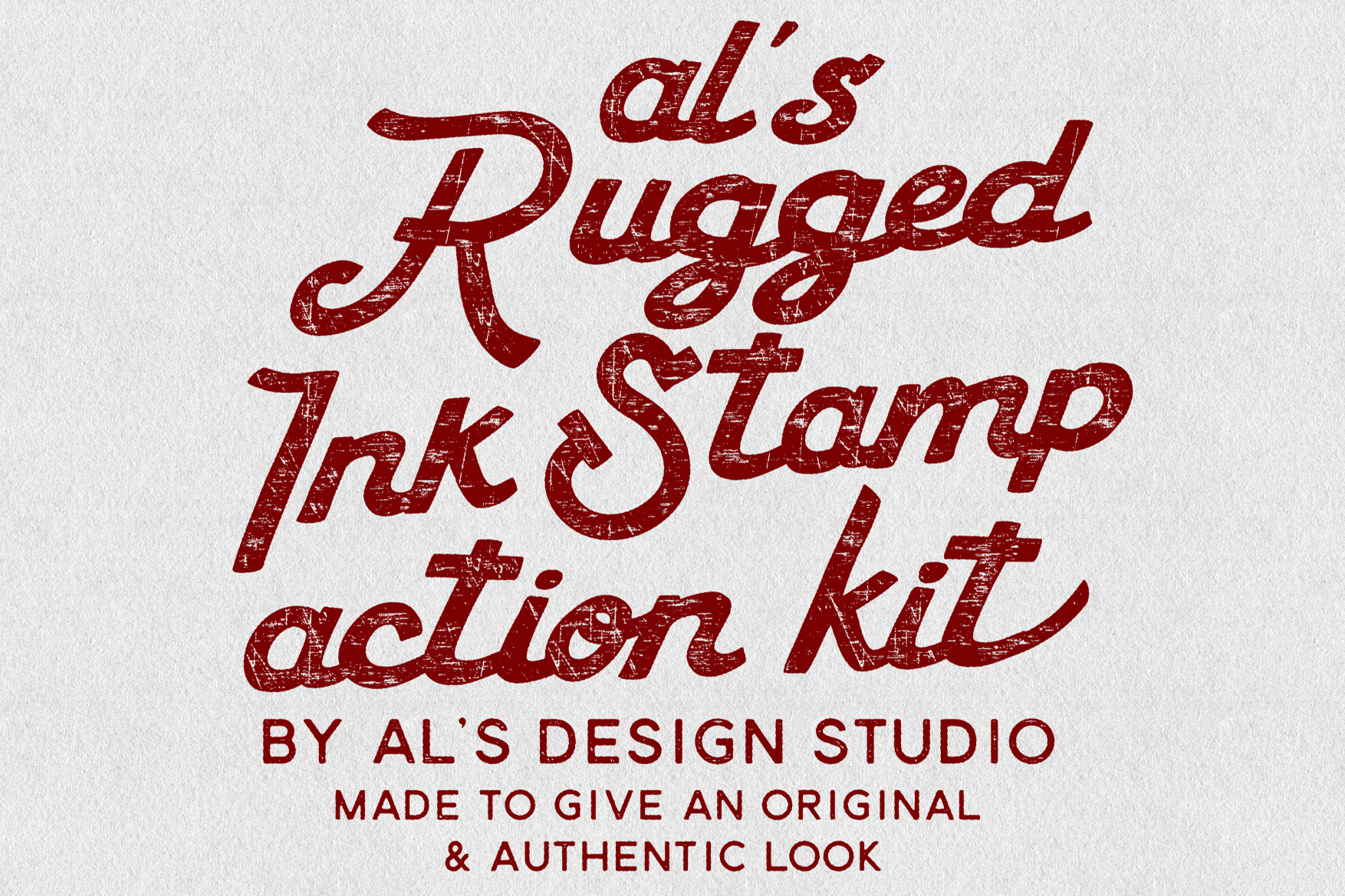 AL's Rugged Ink Stamp Action Kit example image 6