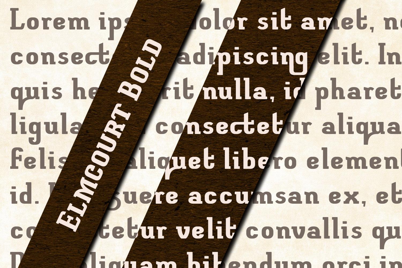 Elmcourt Bold example image 3