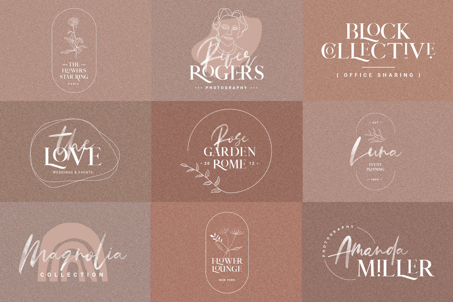 January Love Font Duo With 10 Logos & More Extras example image 7