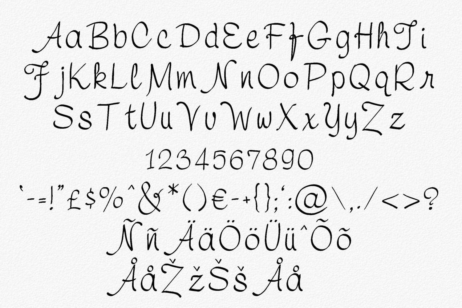 Symca Font example image 2