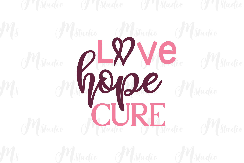 Cancer Awareness bundle SVG example image 8