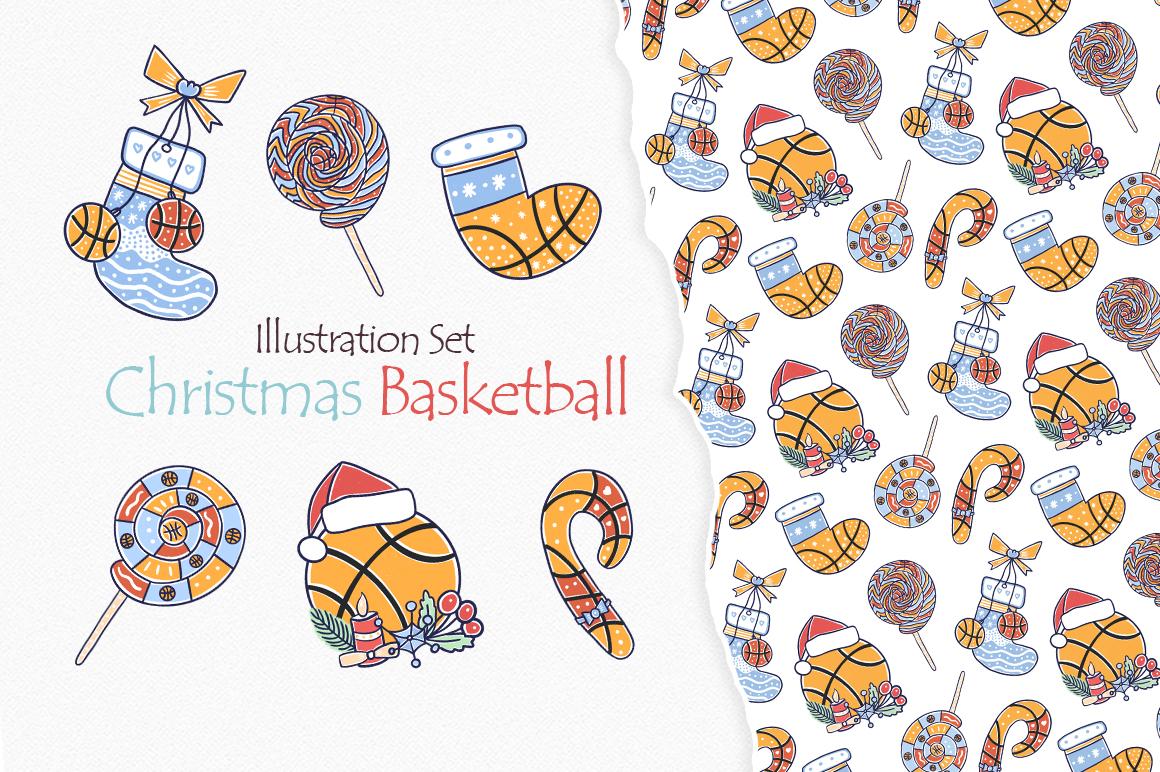 Christmas Basketball example image 1