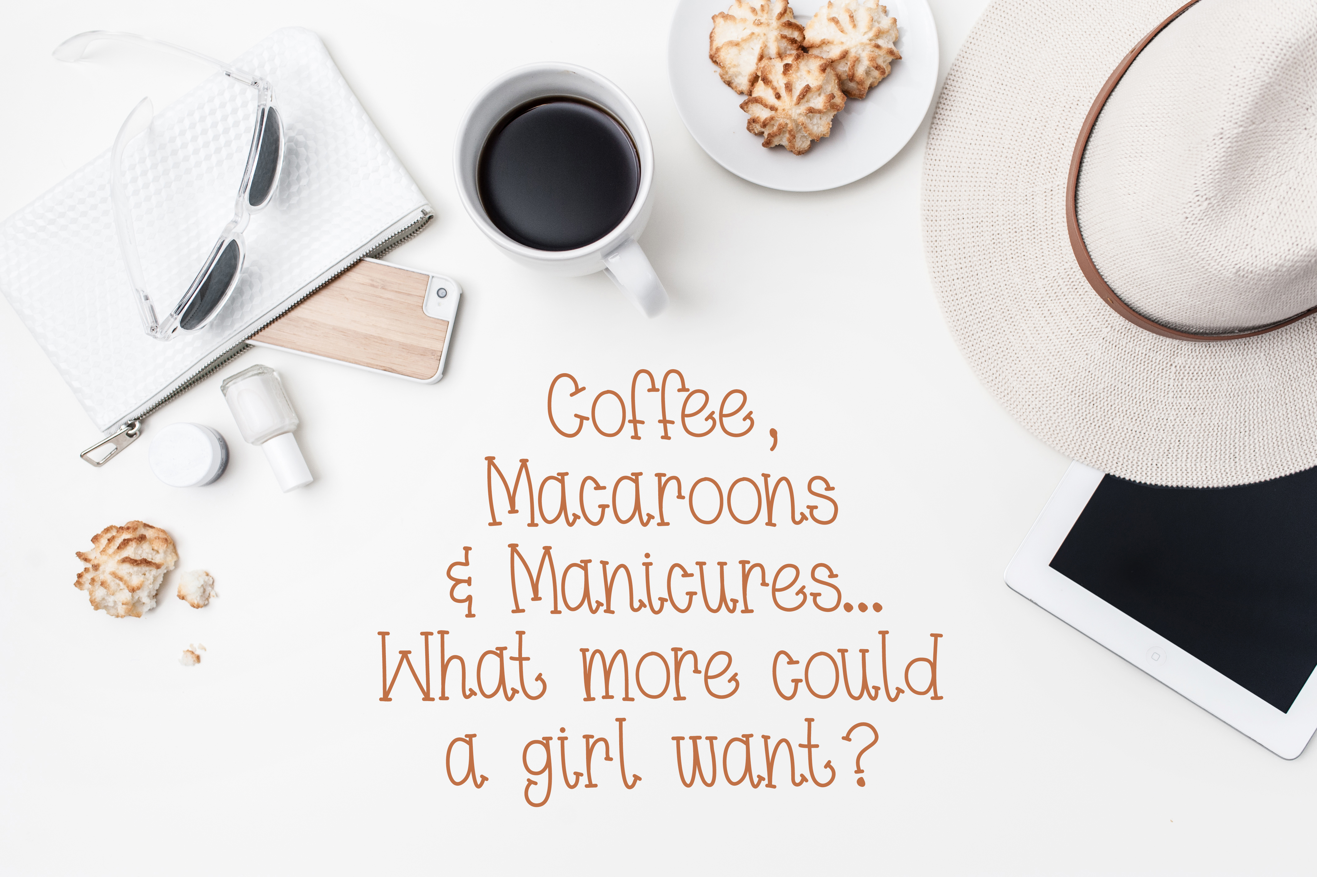 Coffee & Macaroons - Hand lettered Font example image 3