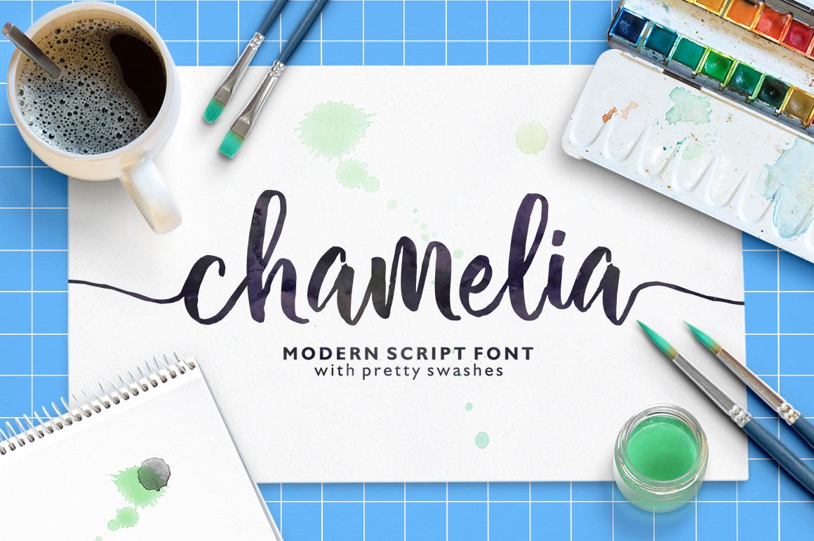 Chamelia Script example image 1