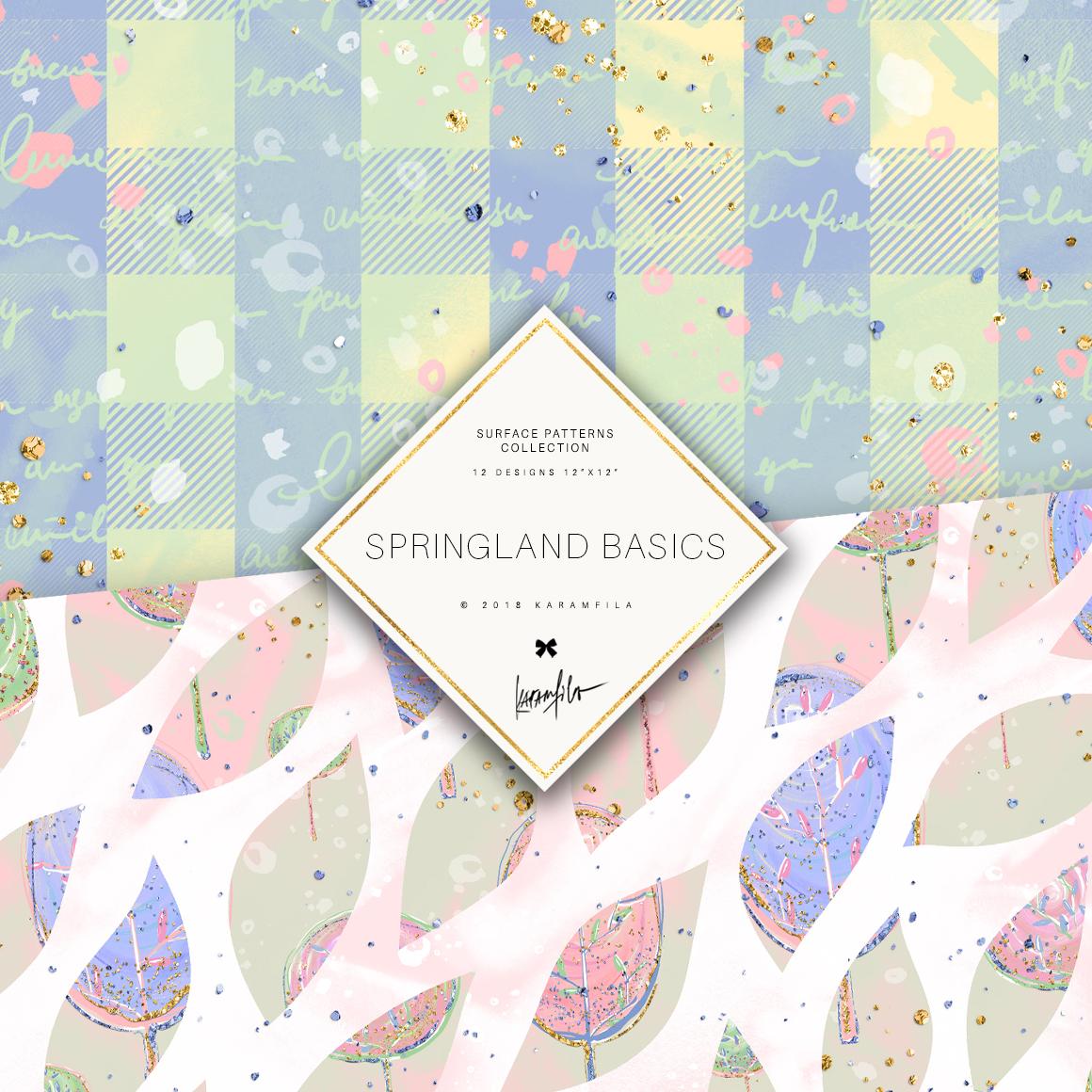 Karamfila's Springland Basic Patterns example image 7