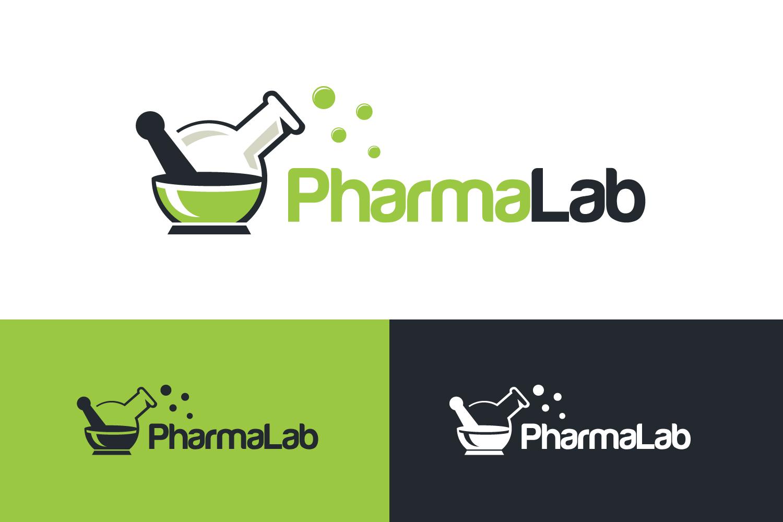 Pharmacy Lab logo example image 1