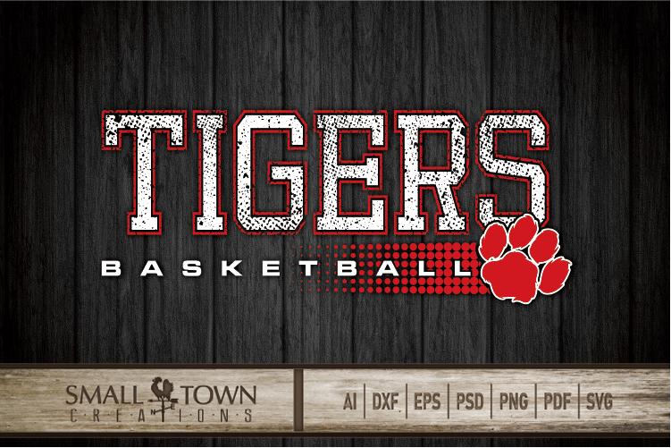 Tigers basketball, tiger mascot, team, PRINT, CUT, DESIGN example image 15