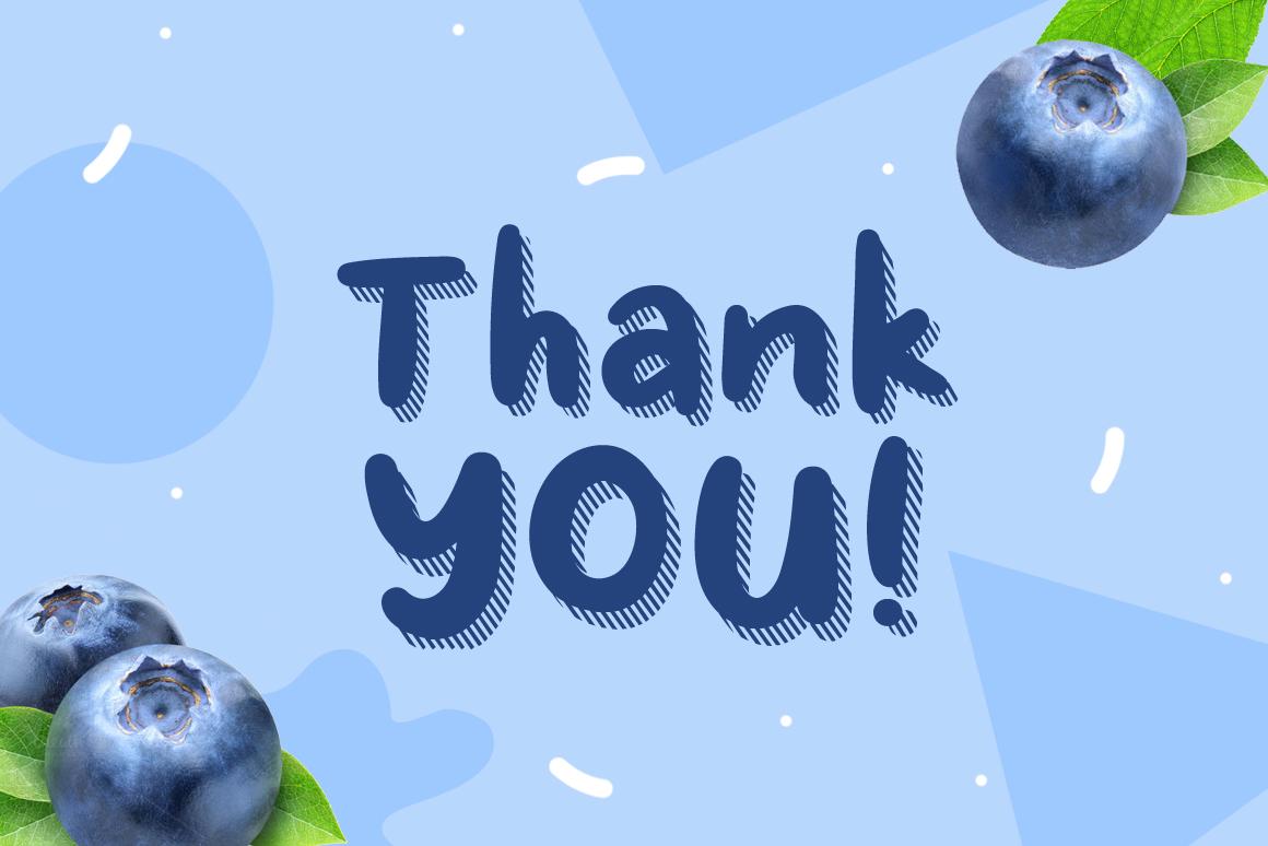 Fresh Blueberry example image 7