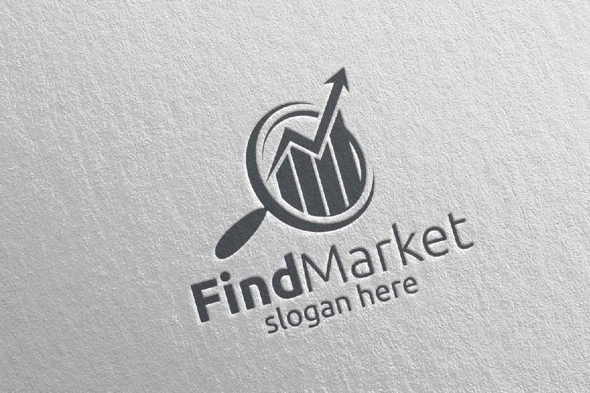 Find Marketing Financial Advisor Logo Design Template 14 example image 5