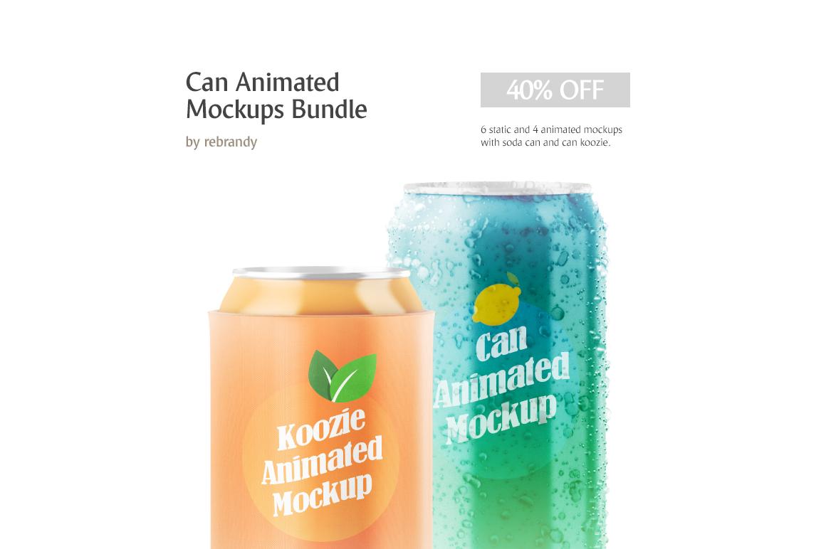 Can Animated Mockups Bundle example image 1