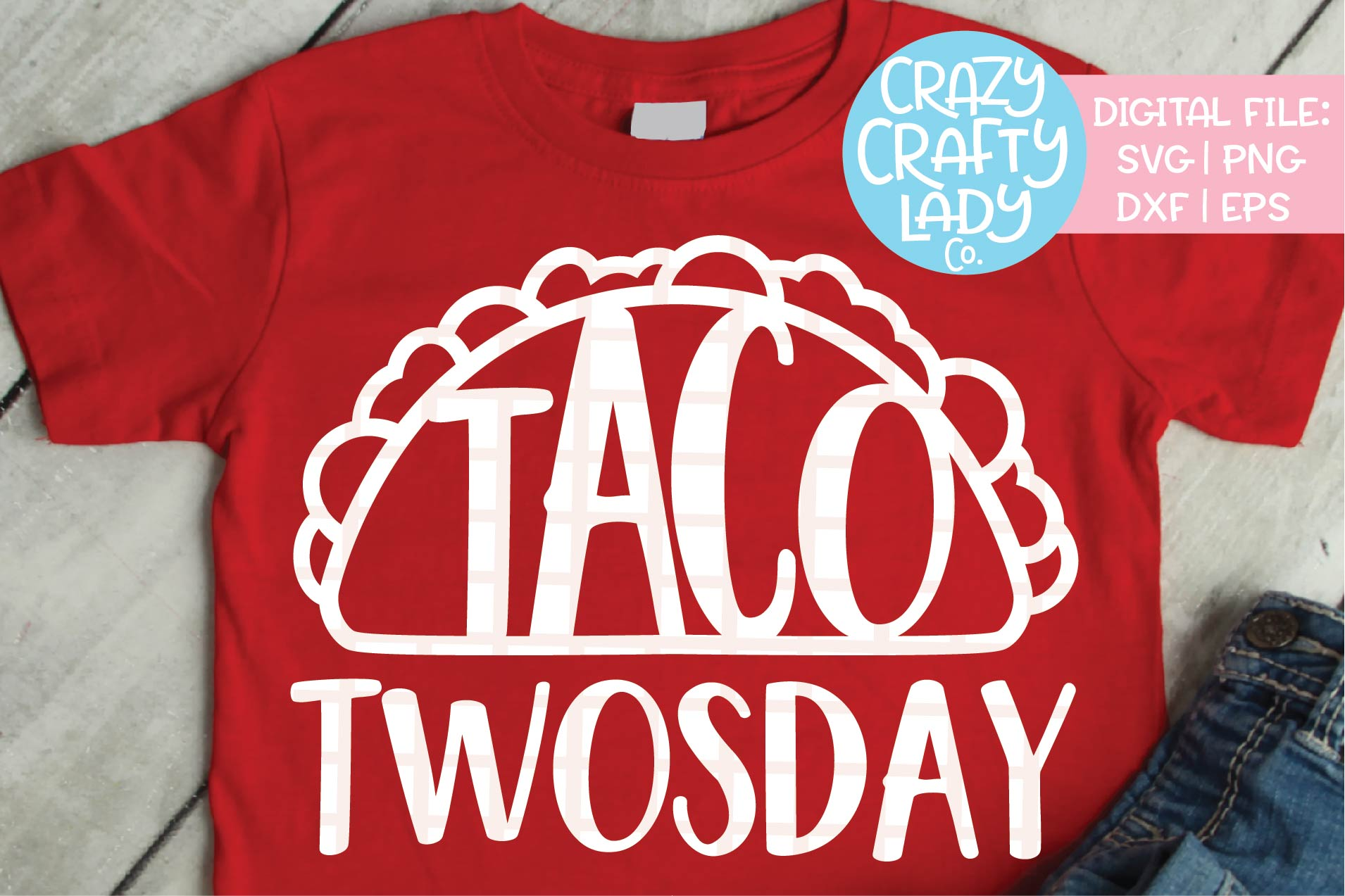 Taco Twosday SVG DXF EPS PNG Cut File example image 1