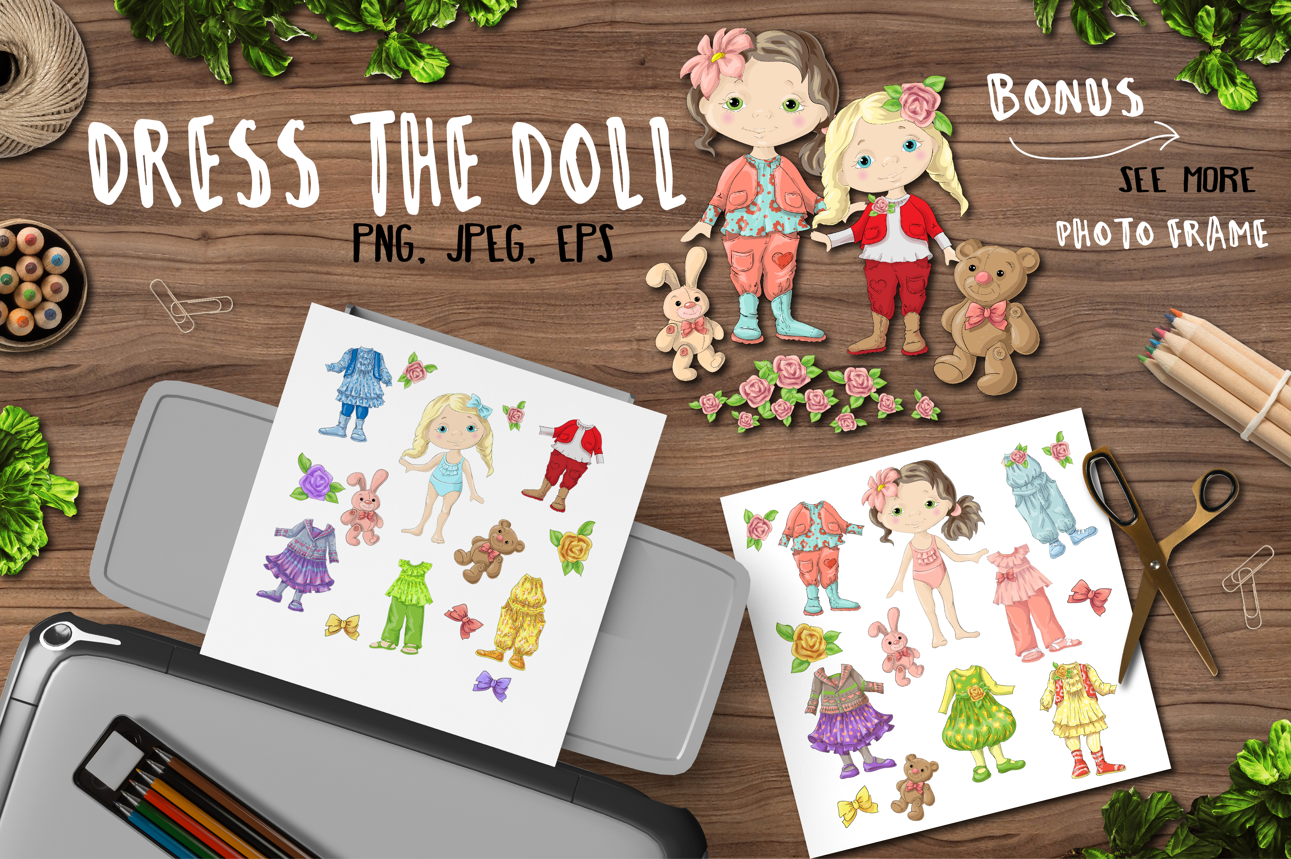 Dress the Doll. example image 1