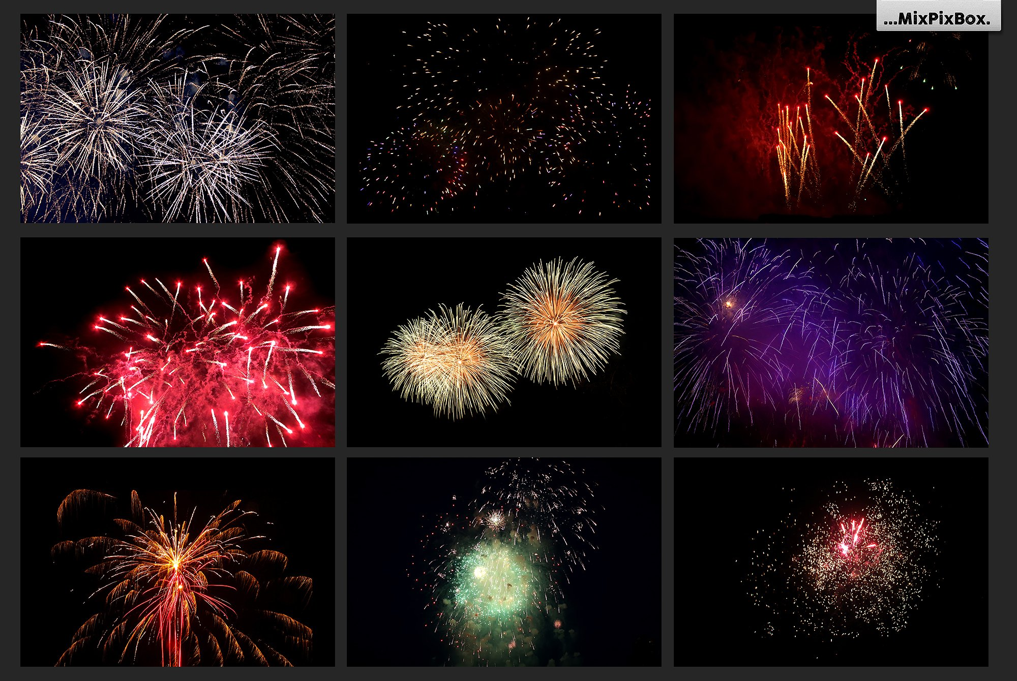 100 Fireworks Overlays example image 10