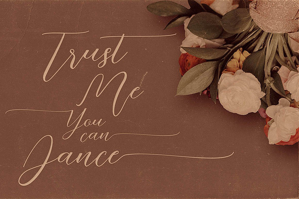 Just Marriage Font Duo example image 2