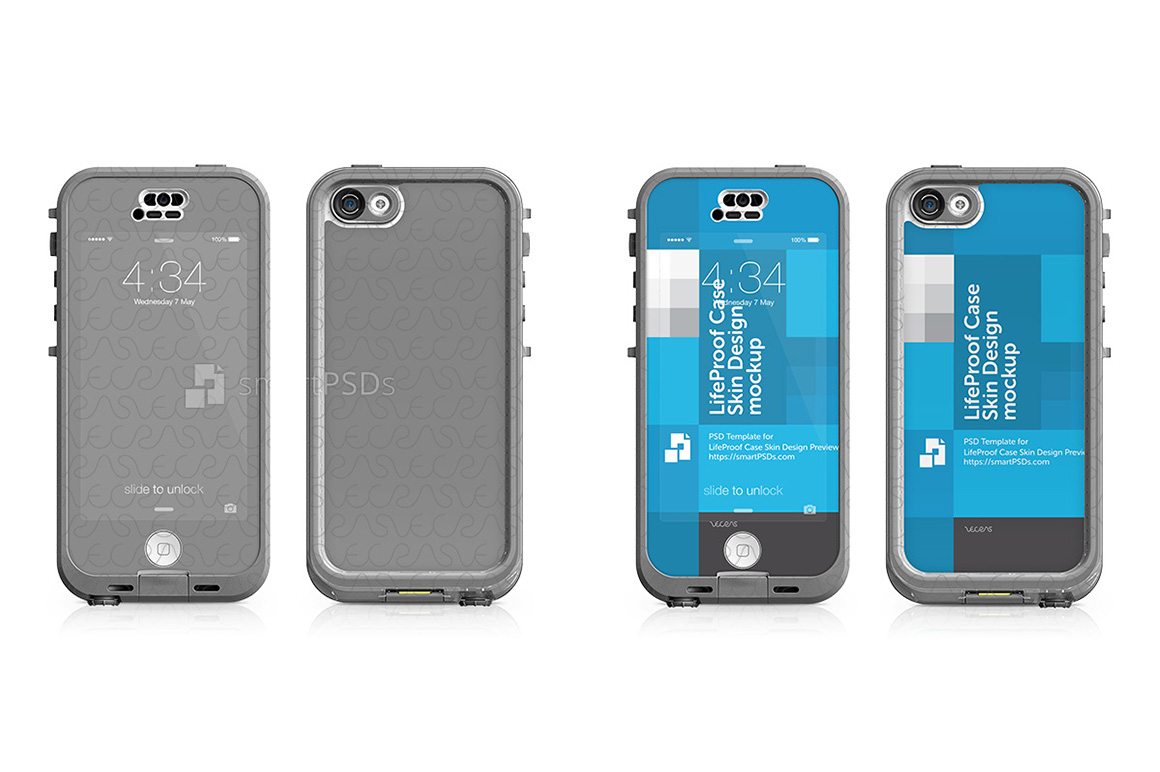 hot sales acfca c1786 Apple iPhone 5C LifeProof NUUD Case Skin Design Template