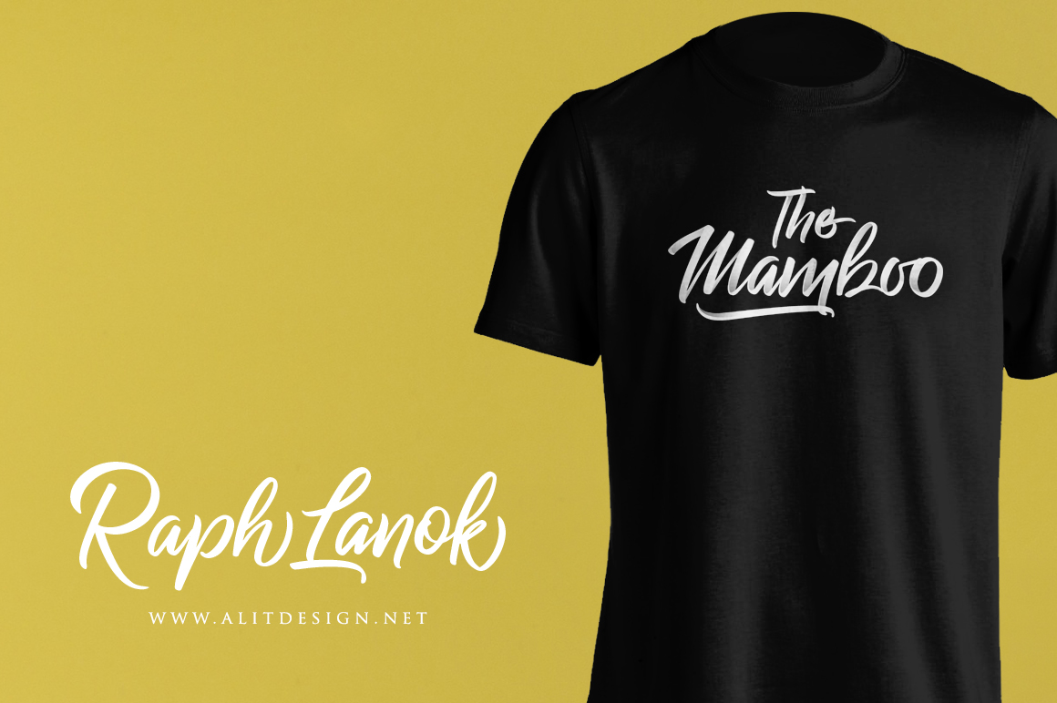 Raph Lanok Typeface example image 10