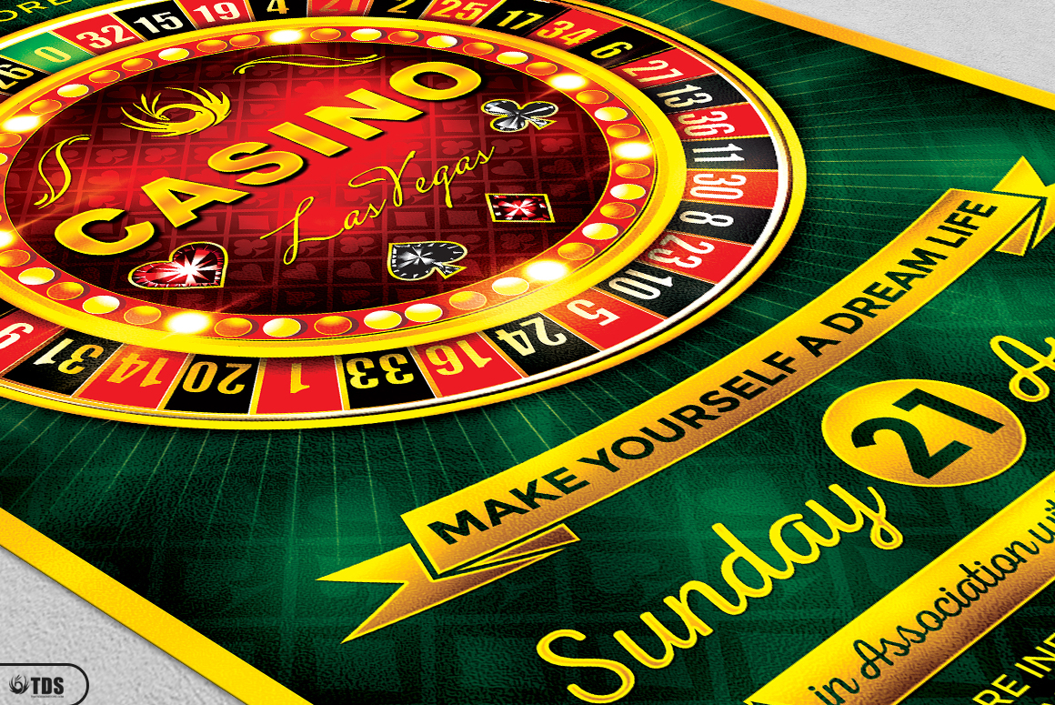 Poker and Casino Flyer Bundle example image 12