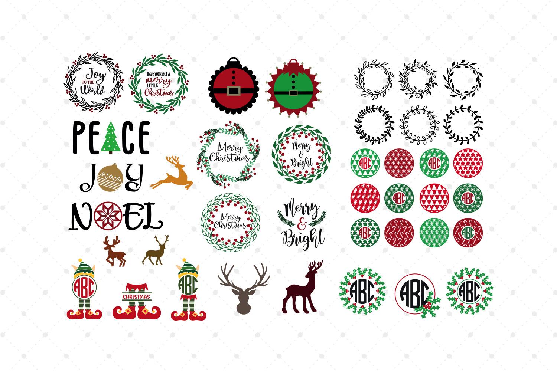 Christmas Bundle SVG Cut Files example image 3