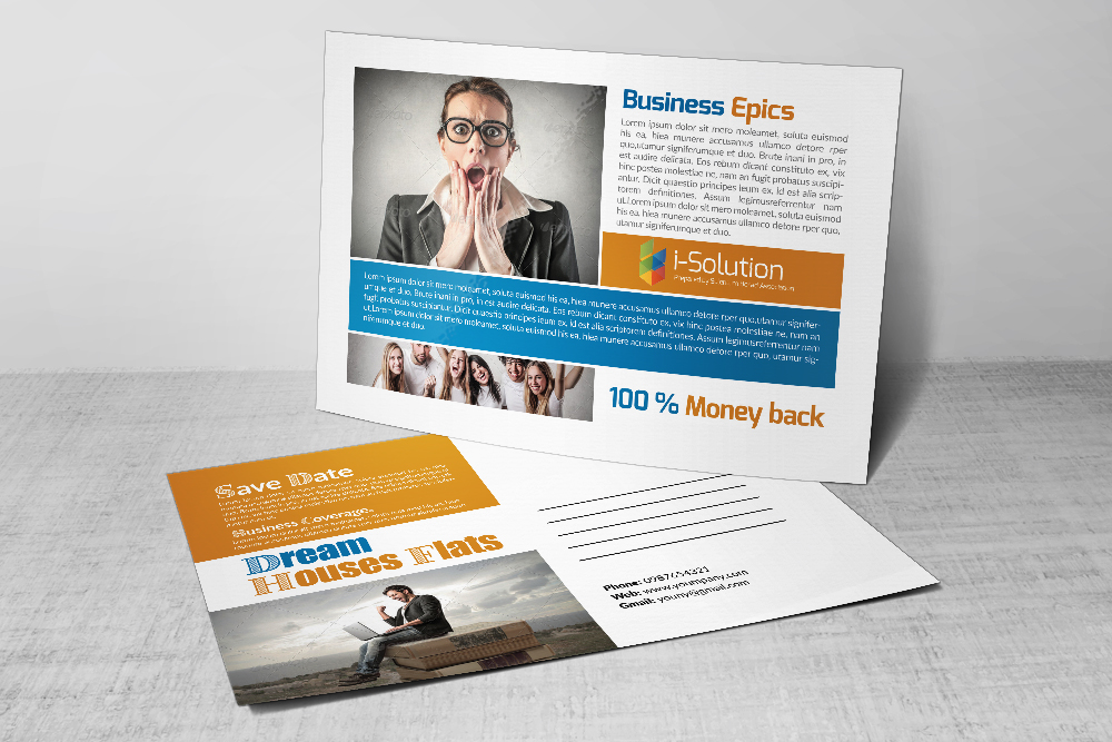 Business Marketing Postcards example image 2