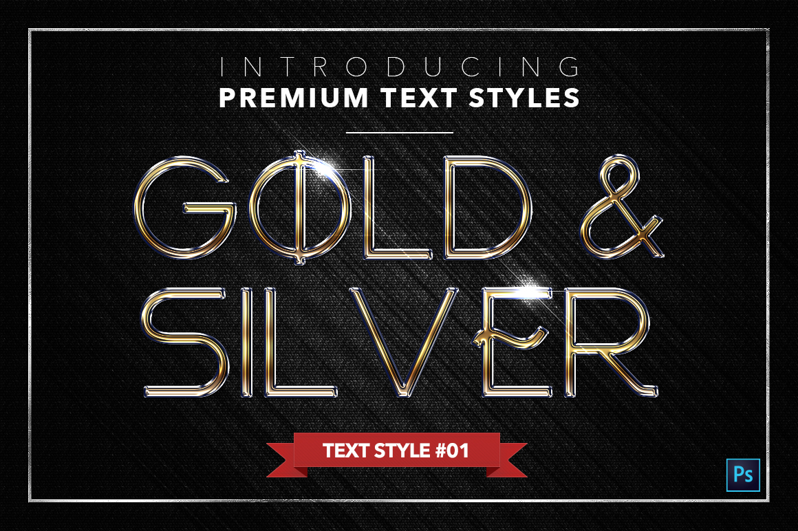 Gold & Silver #3 - 15 Text Styles example image 18