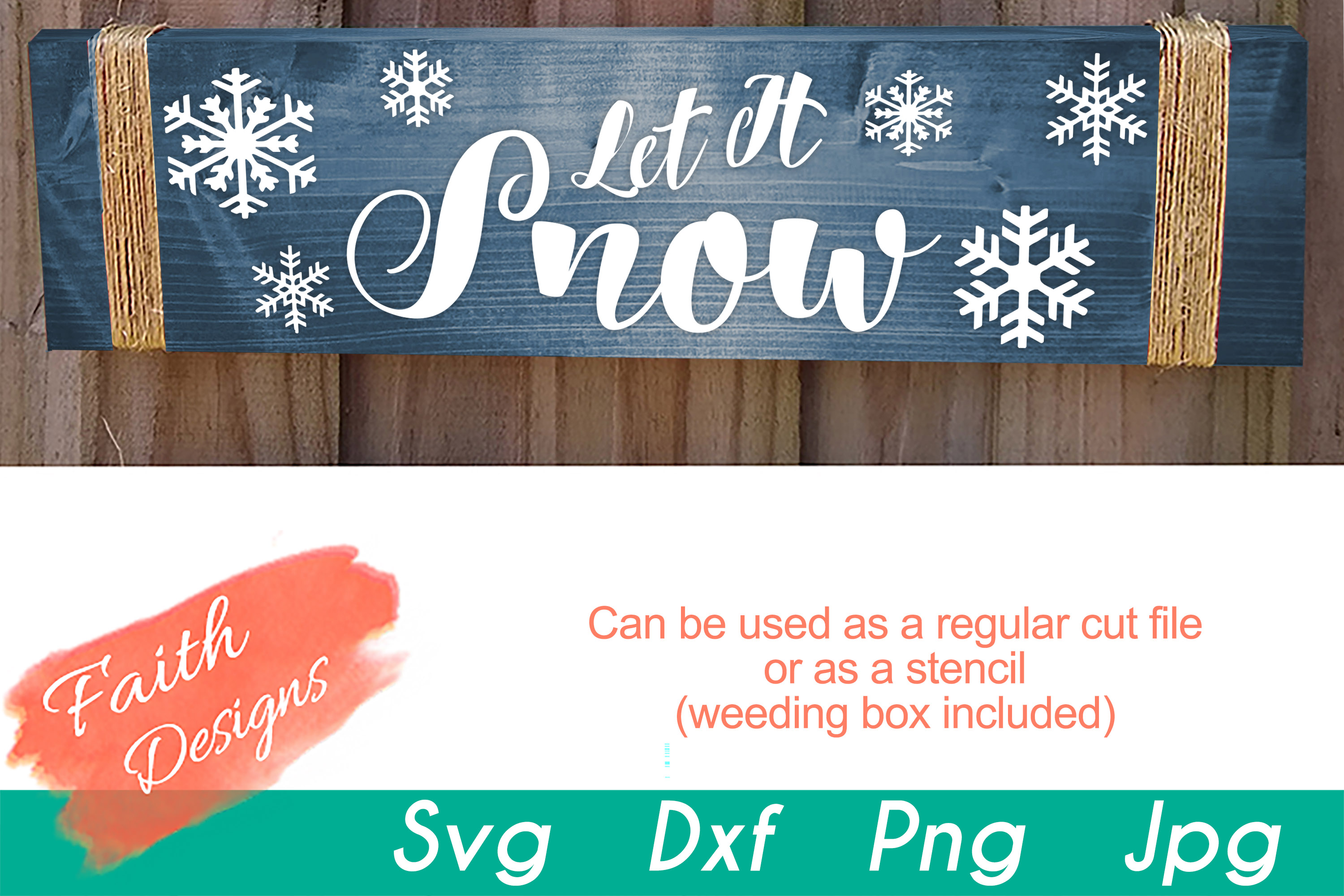 Christmas Porch Sign Bundle example image 8