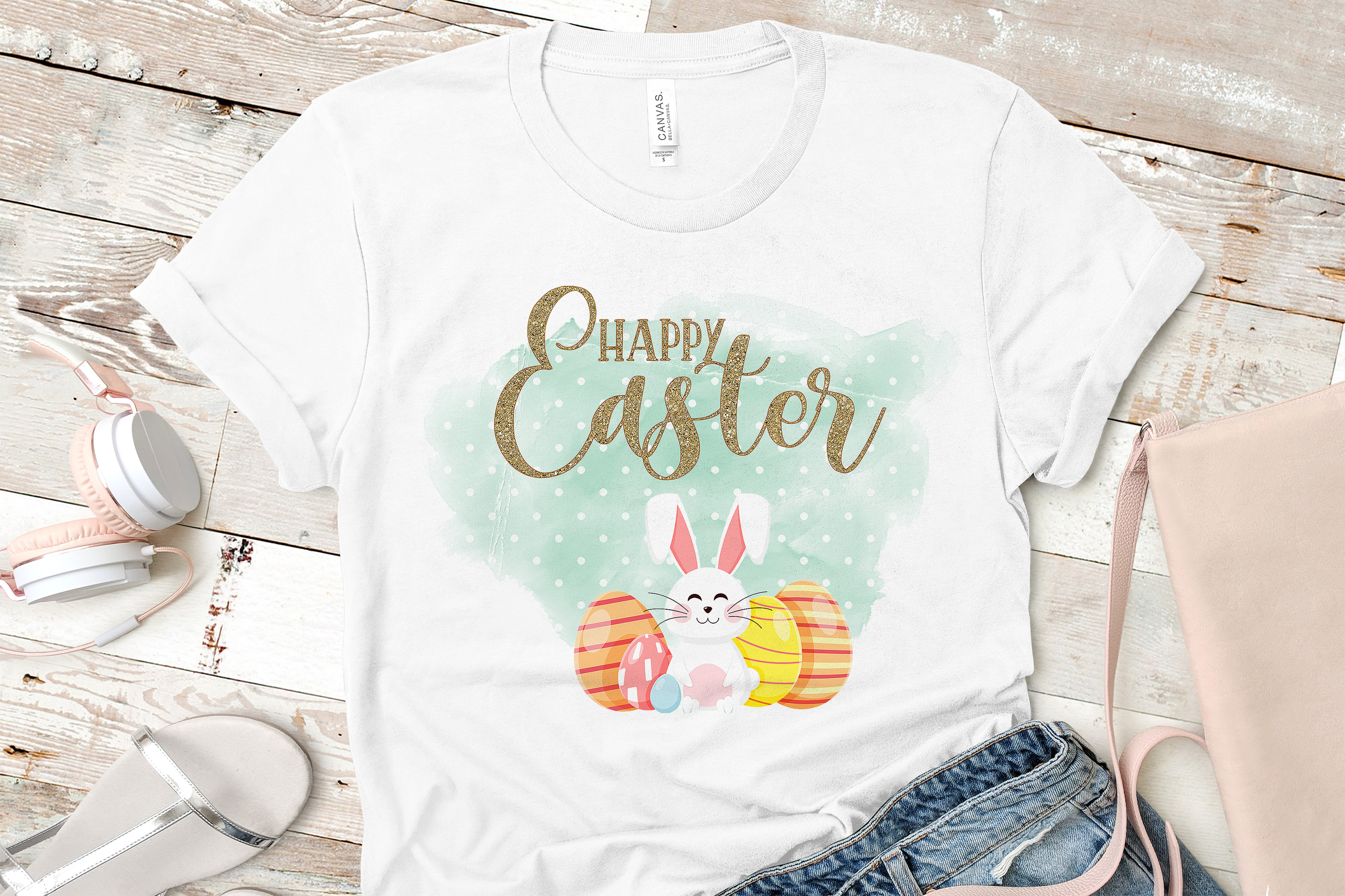 Happy Easter Sublimation Digital Download example image 1