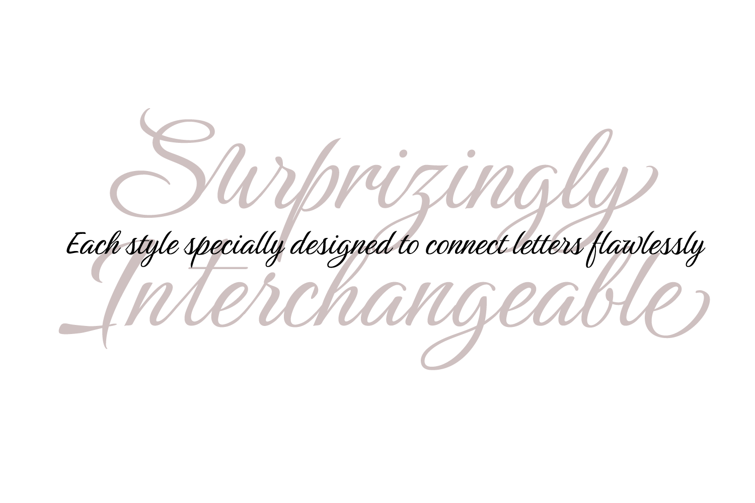 Birthstone Font Family example image 12