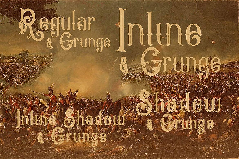 Napoleon Vintage Typeface example image 2