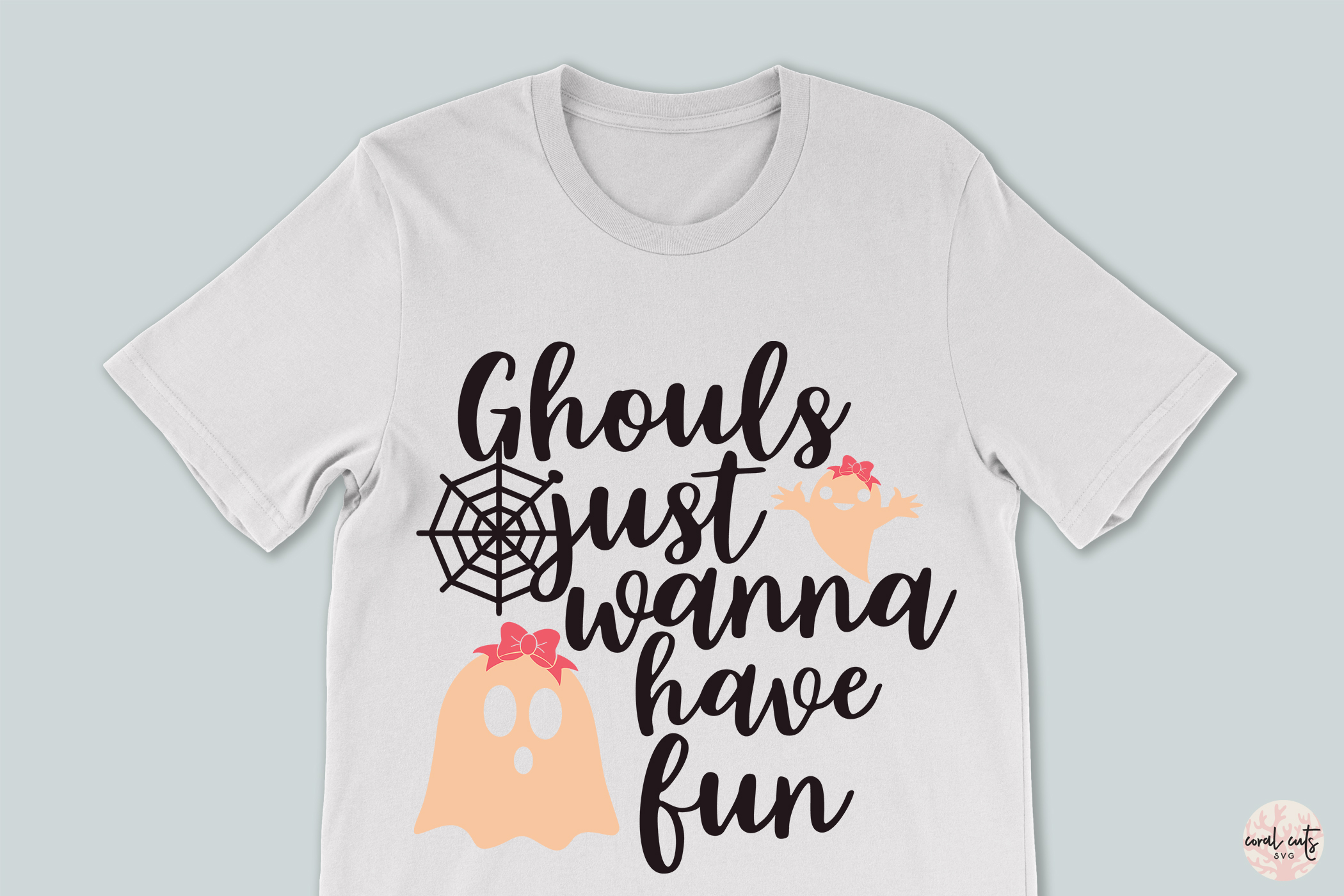 Ghouls Just Wanna Have Fun - Halloween Svg Cutting Files example image 3
