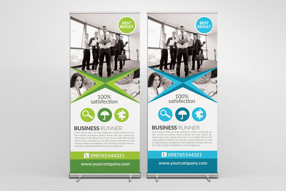 Business Roll Up Banners example image 2