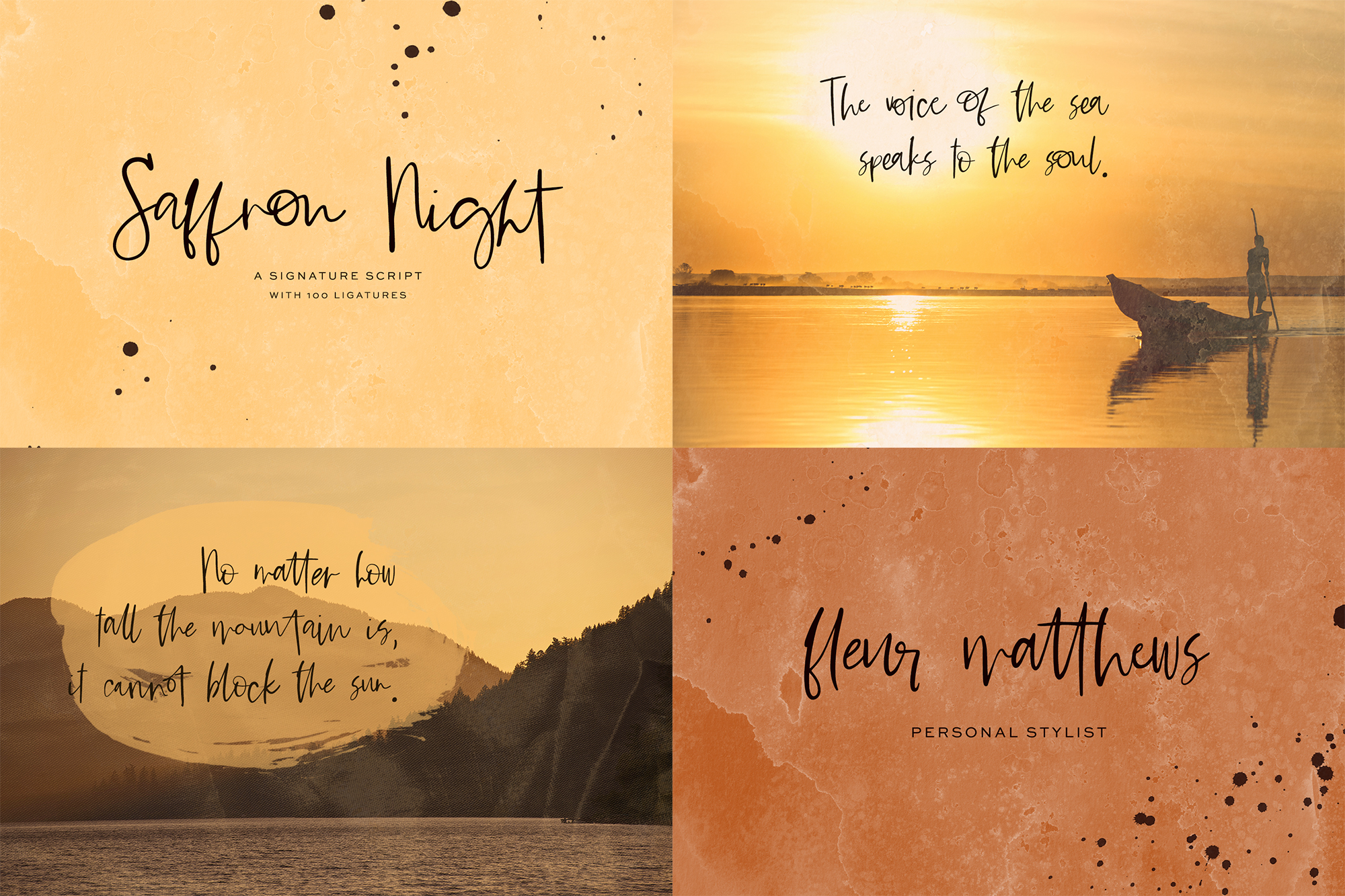 The Handwriting Font Bundle example image 7